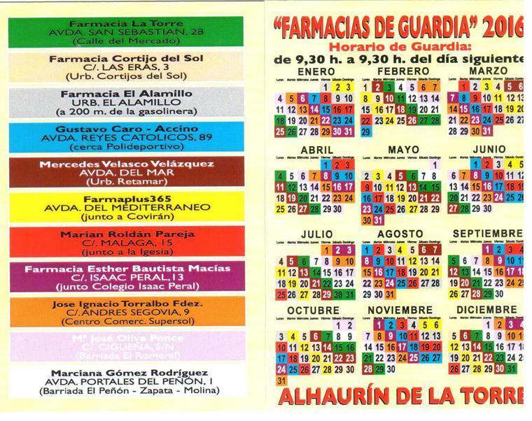 Farmacia Guardia 2014